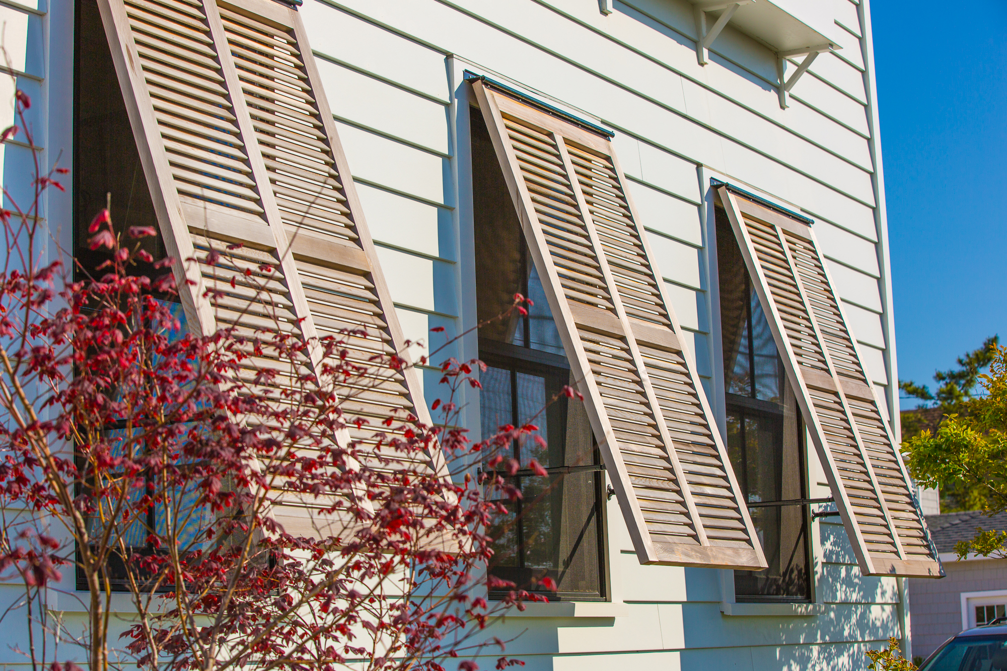 Asher architects philadelphia new jersey architecture for Beachy exterior shutters